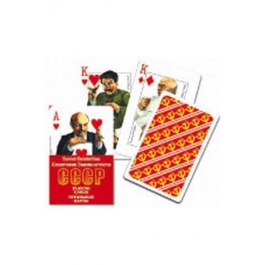 Jeu de cartes: célébrités soviétiques