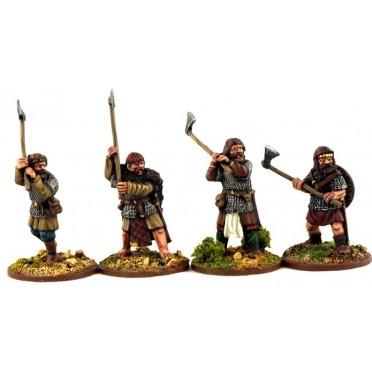 Gardes Hiberno-Nordiques (haches danoises)