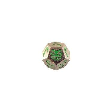 Cthulhu Dice Métal - Nickel