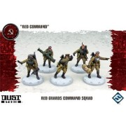 Dust Tactics : Red Guards Command Squad