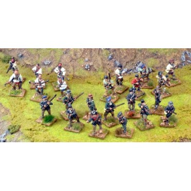Force Britannique Mousquets & Tomahawks