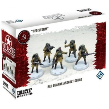 Dust Tactics : Red Guards Assault Squad