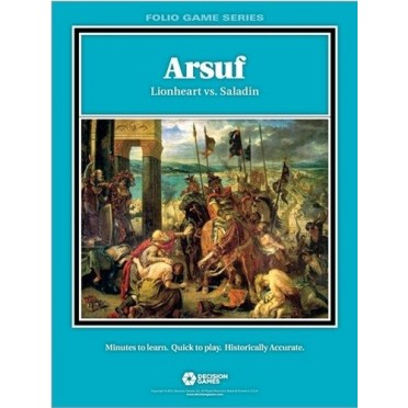 Folio Series : Arsuf : Lionheart vs. Saladin