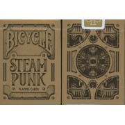 Steampunk non Titanium - Bicycle - Jeux de 54 Cartes