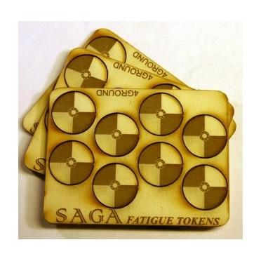 Set de marqueurs Bouclier rond SAGA