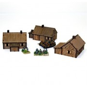 15mm Log Timber Village pas cher