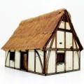 Maison 2 étages médiévale âges sombres 0
