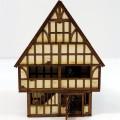 Grande maison Colombage avec marché couvert 2