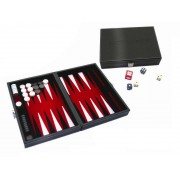 Backgammon Magnetique Coffret Cuir