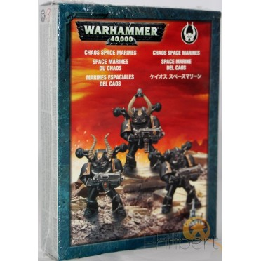 W40k : Chaos Space Marines - Clip Space Marines du Chaos