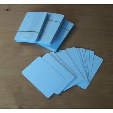 Paquet de 55 Cartes vierges petit format