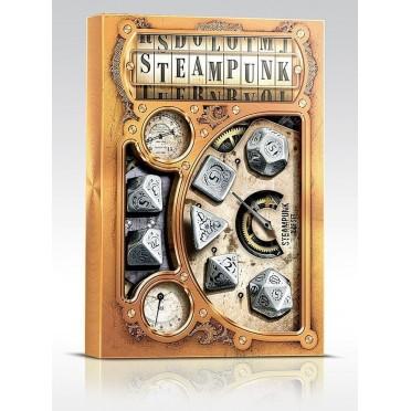 Set de Dés Jdr Steampunk Métal