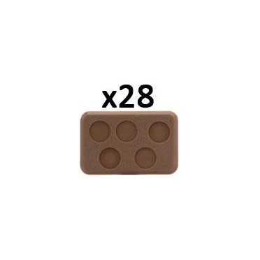 Medium Bases - 5 holes