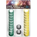 Mage Wars: Action Marker Set 1 0