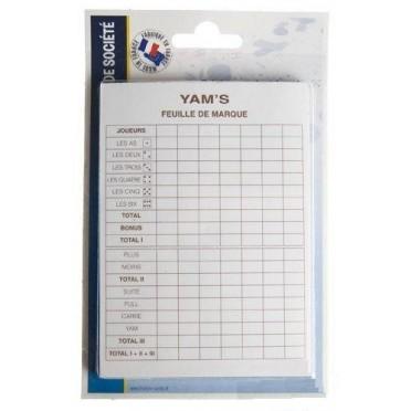 2 Blocs de marque Yam's
