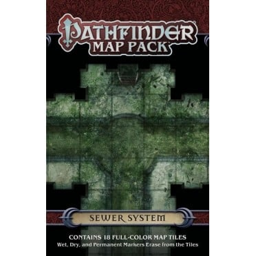 Pathfinder - Map Pack : Sewer System