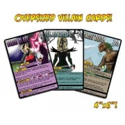 Sentinels of the Multiverse - Oversized Villain Cards 2015