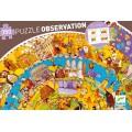 Puzzle Observation - Histoire + Livret - 350 pièces 0