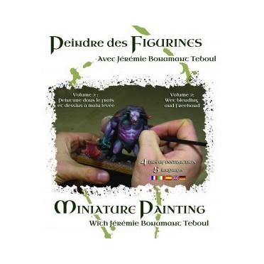 DVD: Peindre des Figurines avec Jérémie Bonamant Teboul Vol 2