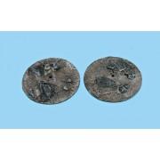 Socles Sandy Wasteland Round 65 mm *2 V