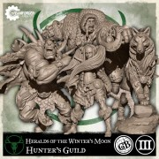 Guild Ball - Hunter : Heralds of the Winter's Moon Expansion