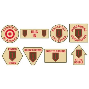 1st Infantry Division Token Set