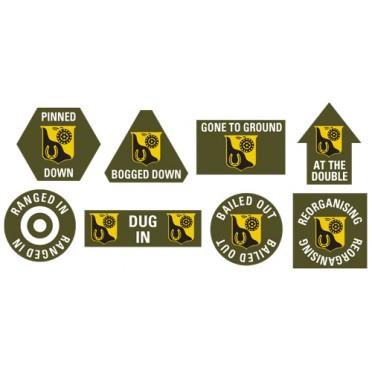 91st Cavalry Token Set