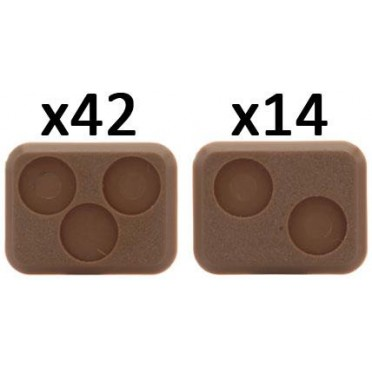 Small Bases - 2 and 3 Holes