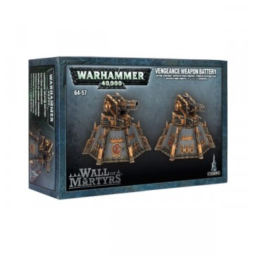 W40K : Décors - Wall of Martyrs Vengeance Weapons Battery