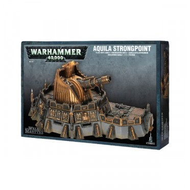 W40K : Décors - Wall of Martyrs Aquila Strongpoint