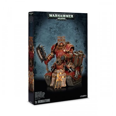 W40K : Chaos Space Marines - Khorne Lord of Skulls