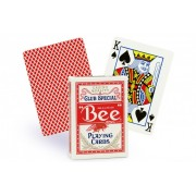 Bee - Rouge - Jeu de 54 cartes
