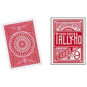 Tally Ho Cercle - Rouge - Jeux de 54 Cartes