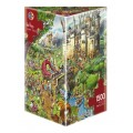 Puzzle - Fairy Tales de Hugo Prades - 1500 Pièces 1