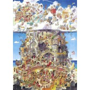 Puzzle - Heaven and Hell de Hugo Prades - 1500 Pièces
