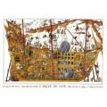 Puzzle - Arche Noah de Jean-Jaques Loup - 2000 Pièces 0