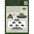 T26 OBR 1933 Light Tank Company 1