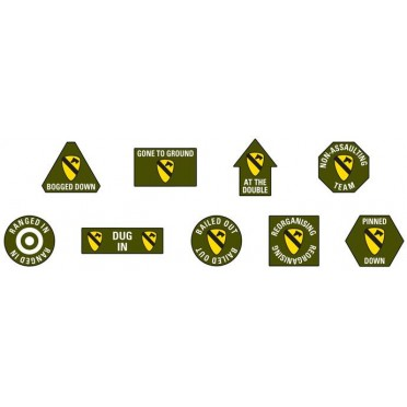 1st Cavalry Division (Airmobile) Token Set