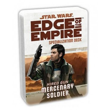 Star Wars : Edge of the Empire - Mercenary Soldier Specialization