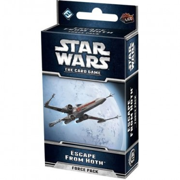 Star Wars : The Card Game - The Escape from Hoth Force Pack
