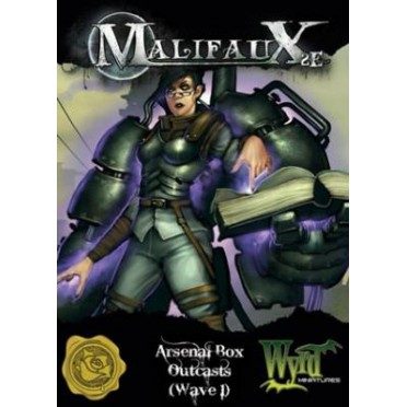 Malifaux 2nd Edition Arsenal Box 1 Outcast