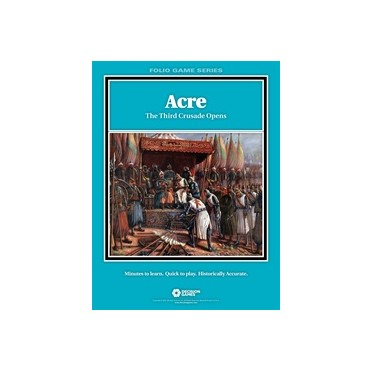 Folio Series - Acre: The Third Crusade Opens