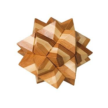 Casse Tête Bambou 9 - Etoile