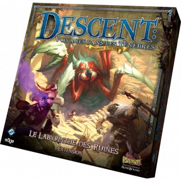 Descent Seconde Édition : Le Labyrinthe des Ruines