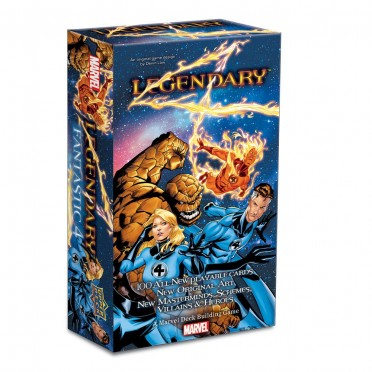 Legendary : Marvel Deck Building - Fantastic 4 Expansion