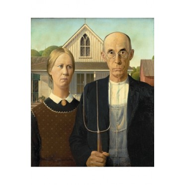 American Gothic - Grant Wood - 250 pièces