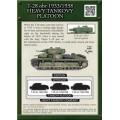 T-28 Obr 1933/1938 heavy tankovy platoon 1