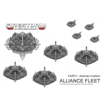 Zenian League Kedorian Alliance Fleet