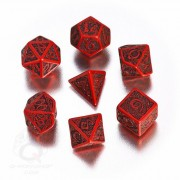 Set of Red & Black Celtic 3D