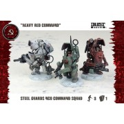 Dust Tactics - Steel Guard NCO Comman Squad (SSU)